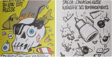 Dua kartun CH edisi 6 Nopember 2015 yang membuat Rusia sangat marah